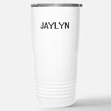 Jaylyn Digital Name Travel Mug