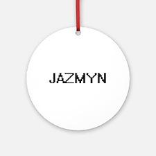Jazmyn Digital Name Ornament (Round)
