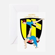 Acro Maryland Greeting Cards