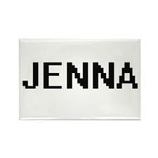 Jenna Digital Name Magnets