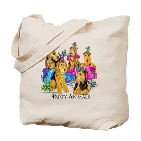 Airedale Terrier Party Tote Bag