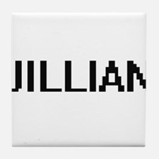 Jillian Digital Name Tile Coaster