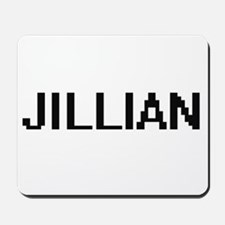 Jillian Digital Name Mousepad