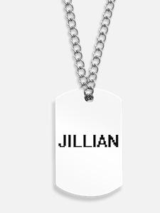Jillian Digital Name Dog Tags