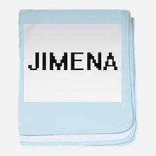 Jimena Digital Name baby blanket