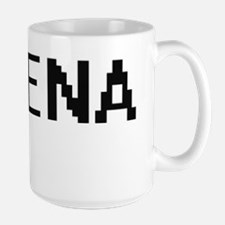 Jimena Digital Name Mugs