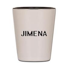 Jimena Digital Name Shot Glass
