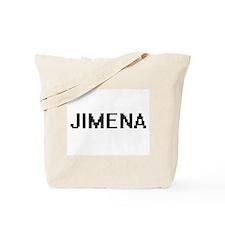 Jimena Digital Name Tote Bag