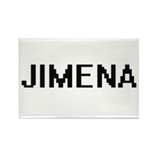 Jimena Digital Name Magnets