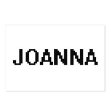 Joanna Digital Name Postcards (Package of 8)