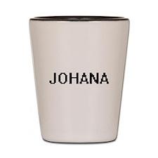 Johana Digital Name Shot Glass