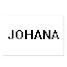 Johana Digital Name Postcards (Package of 8)