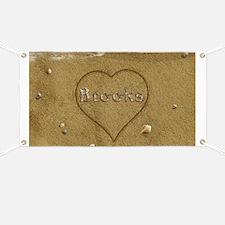 Brooks Beach Love Banner