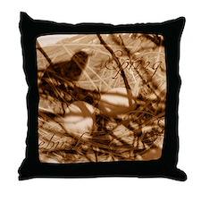 Cute Earthtones Throw Pillow