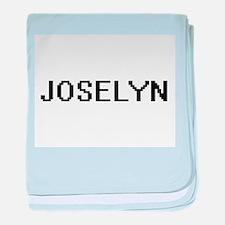 Joselyn Digital Name baby blanket