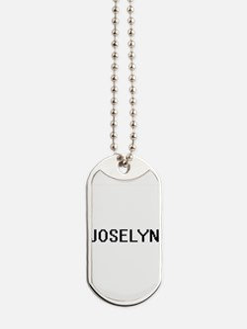 Joselyn Digital Name Dog Tags
