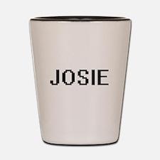 Josie Digital Name Shot Glass