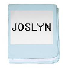 Joslyn Digital Name baby blanket