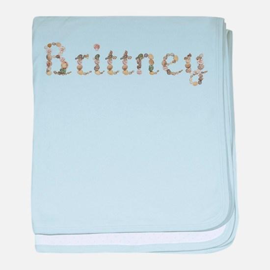 Brittney Seashells baby blanket