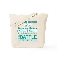 Gynecologic Cancer Hero Tote Bag
