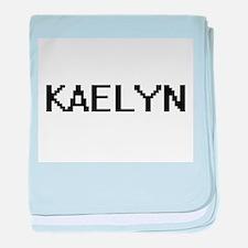 Kaelyn Digital Name baby blanket