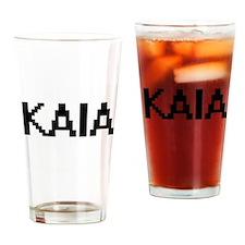 Kaia Digital Name Drinking Glass
