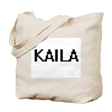 Kaila Digital Name Tote Bag