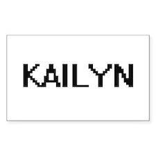 Kailyn Digital Name Decal