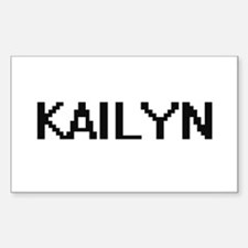 Kailyn Digital Name Decal