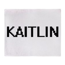 Kaitlin Digital Name Throw Blanket