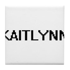 Kaitlynn Digital Name Tile Coaster