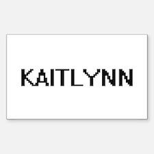 Kaitlynn Digital Name Decal