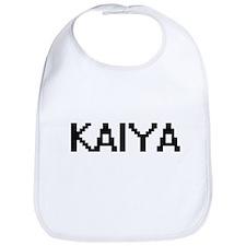 Kaiya Digital Name Bib