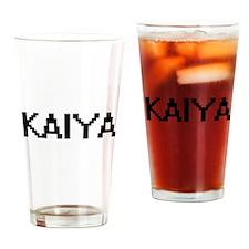 Kaiya Digital Name Drinking Glass