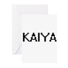 Kaiya Digital Name Greeting Cards