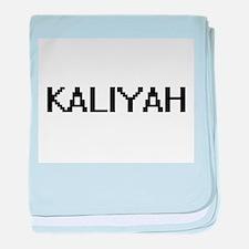 Kaliyah Digital Name baby blanket