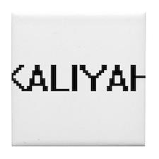 Kaliyah Digital Name Tile Coaster