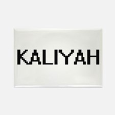 Kaliyah Digital Name Magnets