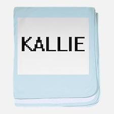 Kallie Digital Name baby blanket