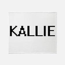 Kallie Digital Name Throw Blanket
