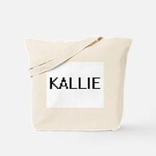 Kallie Digital Name Tote Bag