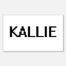 Kallie Digital Name Decal