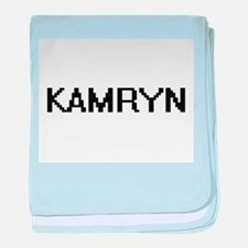 Kamryn Digital Name baby blanket
