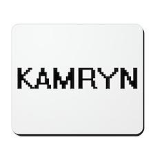 Kamryn Digital Name Mousepad