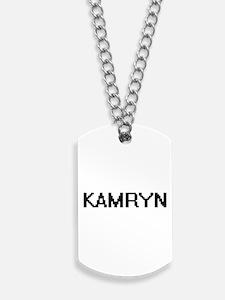 Kamryn Digital Name Dog Tags