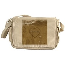 Brenton Beach Love Messenger Bag