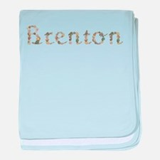 Brenton Seashells baby blanket