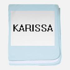 Karissa Digital Name baby blanket
