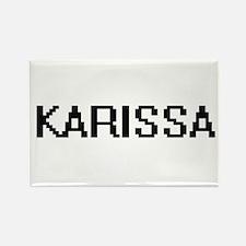 Karissa Digital Name Magnets
