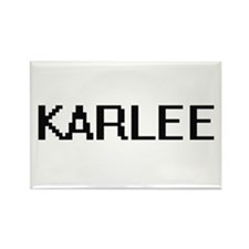 Karlee Digital Name Magnets